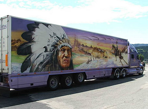 camion routier