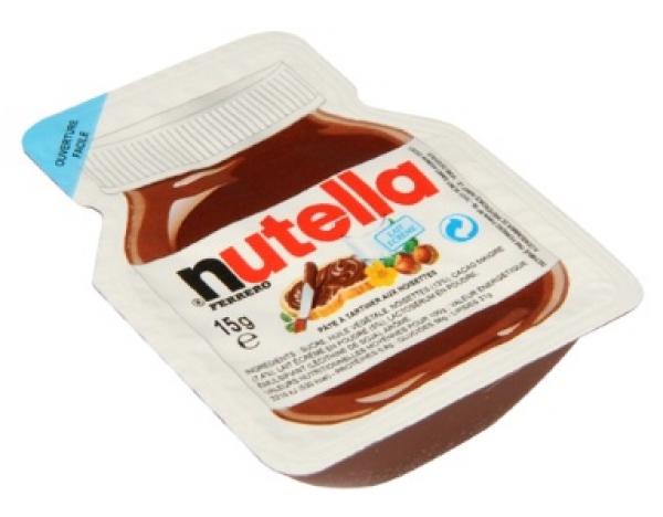 20 barquettes Nutella 15g