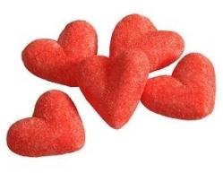 coeur fraise tendre