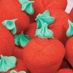 fraises décorées