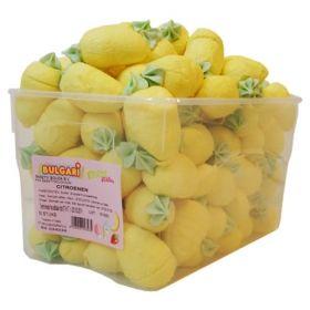 guimauve citron décoré