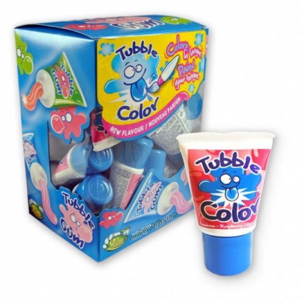 tubble gum framboise tache langue