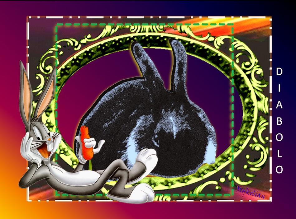 """Un cousin """"Bugs Bunny"""""""